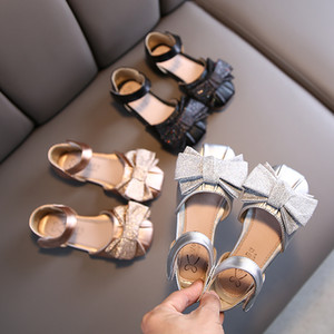 Girls Princess Shoes 2020 Kid's Ballet Flats Flower Dress Shoes for Girl Childrens Uniform Mary Jane Shoes Leather Spring Summer