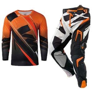 Top MX Motocross Jersey e calças Corrida Gear Set Mountain Bike Suit combinação Equitação da motocicleta