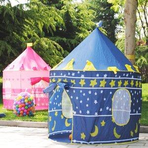 Play Tent Baby Ball Pool Tipi Tent для детского розового голубая детская палатка Play House 100 шт. / Лот океан-мяч игрушки TENTS Easy Babysitter LJ200923