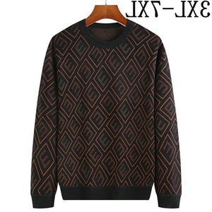 Size 7XL 6XL 5XL Cashmere Oversized Sweaters Men 2020 New Fashion Men's Christmas Sweater Autumn Winter Male Soft Warm Pullovers