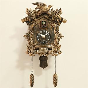 CUCKOO RELOCK Wall Clock Bird Alarm Watch Moderno Breve Niños Unicornio Decoraciones de unicornio Hogar Día Tiempo Wanduhr Saat Horloge Murale Y200109