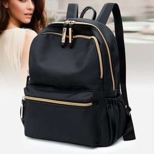 NoEnName Null Fashion Women Ladies Anti theft Backpack Shoulder Bag Laptop Book bag Multifunction Waterproof Travel Rucksack