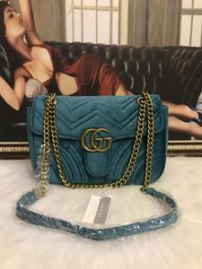 Luxurys Designers sacchetti delle signore rosse netti peluche di alta qualità frizione borsetta in pelle borsa a tracolla