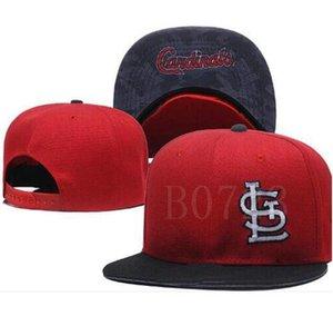 Remise Snapback Cardinal Chapeau Strapback formation casquette Camp réglable femmes de baseball hommes chapeau Snapbacks American City Cap Outlet A18