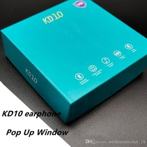 KD10 KD 10 V8 TWS Wireless Earphone Bluetooth 5.0 Touch control Earbuds With Pop-up Window Wireless Charging Headset 3 real battery