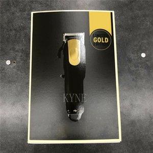 Top Seller 8184 Волшебное Зажим металла Машинка для стрижки волос Электрические бритвы Мужчины стали бреющая головка Триммер Золото Красный 2 Цвет