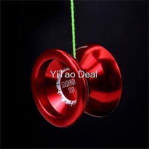 Spedizione gratuita Magic Yoyo Red T5 Lega in lega di alluminio professionale Yo-Yo Yoyo Toy 201214