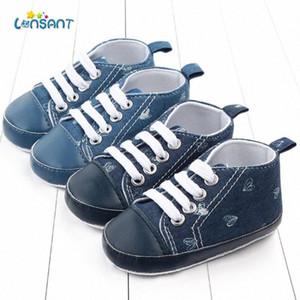 LONSANT Klasik Spor Sneakers Yenidoğan Bebek Erkekler Kızlar İlk Yürüyenler Ayakkabı Bebek Yürüyor Yumuşak Sole Kaymaz Bebek Ayakkabı EMw0 #