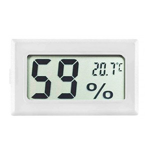 FY-11 Mini Digital LCD Ambiente Termometro igrometro Nero Bianco umidità temperatura Meter in camera Frigorifero Ghiacciaia DBC BH4157
