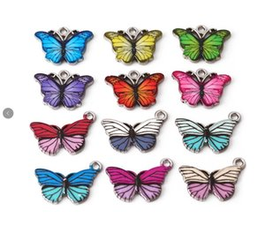10pcs lot Metal Alloy 20*14MM Butterfly Charms Pendant DIY Hand Made Accessories Parts for Pendant Earring Jewelry Making
