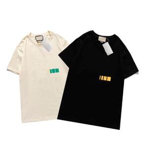 21SS Mode Designer T-shirt Männer Made in Italy T Shirts Sommer Frauen Casual Kurzarm Homme Kleidung 4 Arten