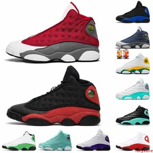 Jumpman 13s Red Flint 2020 Basketball Shoes Lucky Green satinjordanPlayground womens designer trainers mens shoes size 13 sneakers