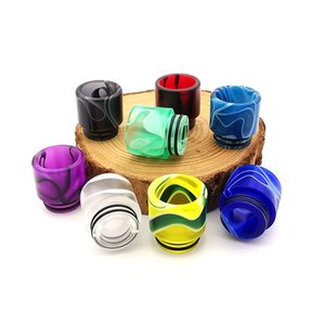 VapeSoon001 810 Acrylic Drip Tip Different Colors Suit For TFV12 Prince TFV8 BIG Baby Falcon King IJUST 3 etc DHL Free