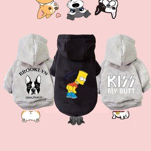Winter Warm Dog Cotton Hoodies Clothes Pet clothing Small medium Dogs Costumes Coat for Cat French Bulldog