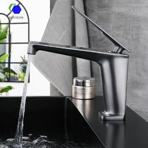 QcFoison Bathroom Bancador Fornecedor Torneira Cachoeira Mixer Counter Basin Bacia De Prata Lixeira Rosa Água De Ouro