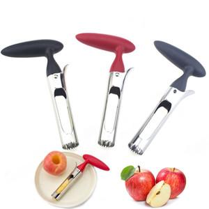 Lâmina Serrilhada Gadgets Cozinha Ferramentas Apple Corer Removedor De Aço Inoxidável Apple Core Tool para casa cozinha com afiada T3i51568