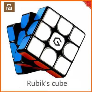 الأصلي youpin giiker m3 المكعب المغناطيسي 3x3x3 حية اللون ساحة ماجيك مكعب لغز تعليم العلوم العمل مع تطبيق Giiker Y200428