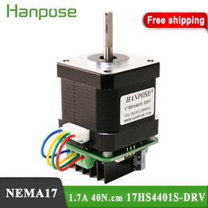 Ücretsiz Kargo 17HS4401S-DRV 1.7A 40N.cm Motor kontrol panosu lineer motorun 3D yazıcı için uygun entegre motor sürücü