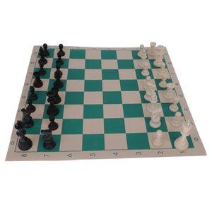 التقليدية نشمر مات CHESS BOARD GAME مجموعة 32 قطعة حزب المرح صالح كبير