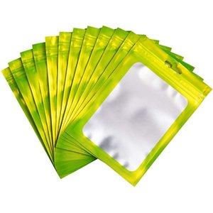 Кусочки 100 герметичные пакеты миларных пищевых продуктов со хранением фольги Защищенные Ziplock Уплотнительная сумка для хранения D1901 Палачей памяти алюминиевые принадлежности