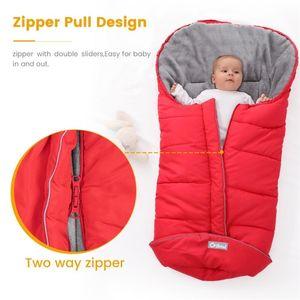 Orzbow Newborn Enveloppes Cocoon Winter Baby Sacs de couchage bébé Poussette bébé Sleepsacks FootMuff Sacs à roues roues à ventouse