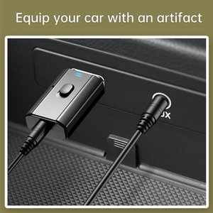 Aux Car Bluetooth Receiver 3.5mm Jack Audio Music Bluetooth Speakers 5.0 Car Kits Wireless Music Adapter Handsfree Speaker