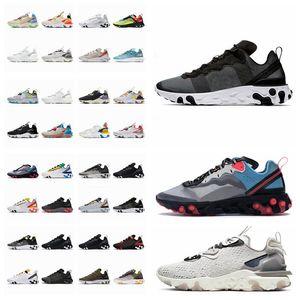 40 + Colorways Reagieren Sie das Sichtelement 55 87 Undercover Herren Laufschuhe Womens Sneakers Sport Herren Trainer Schuh Segellicht Bone Royal Tint