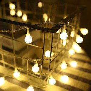 Водонепроницаемый Cgjxs Brelong батареи Led Рождество Box Открытый праздник украшения Свет круглый шар Строка
