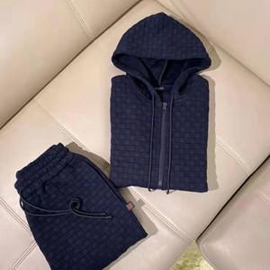 2021 Primavera Nuevo Diseñador de lujo Mens de chándales de alta calidad ~ Sweatsuit de tamaño chino ~ Tops Mens Entrenamiento Traje de la pista de sudor Jogging