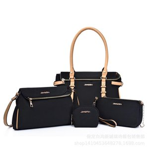 2020 new fashion Women Bag Set Top-Handle Big Capacity Female Designer Handbag Fashion Shoulder Bag Purse Ladies canvas Crossbod