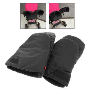 Poussette main Muff gants chauds, très épais Gants d'hiver poussette Gants anti-gel imperméables pour les parents et les aidants Pram accessoires