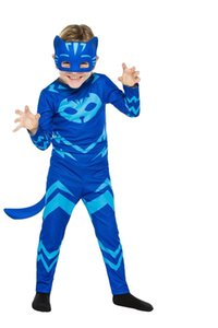 Suit toys Costume Children Cosplay Christmas Clothes Halloween PJ Masks Catboy Gekko Owlette Birthday Party Kids Gifts