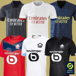 2021 Olympique Lyonnais Lyon Soccer Jersey Aouar Cherki Memphis Losce Lille Fonte Xeka Men Kids Football Shirt Mailleot de Foot Traore