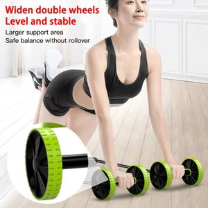 The abdominal strength strip of AB wheel roller pulls rope exercises away from home and is used as physical exercise equipment for abdominal