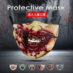 Horror Wear Cosplay Denture Halloween Mask Jsjnl
