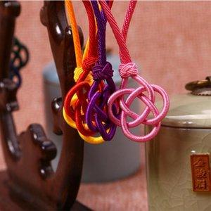 5 stücke Chinesische Knoten Seilkopf Quaste DIY Schmuck Vorhang Kleidungsstücke Handgemachte Machen Quasten Stoff Dekor Zubehör Handwerk Quasten H BBYMAK