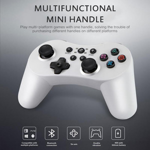 5 In 1 Wireless Bluetooth Controller Gamepad Dual Motor Vibration 400mA Battery For Switch Pro PS3 PC PC360 Pubg Xbox One Games