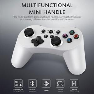 5 Em 1 controlador sem fio Bluetooth Gamepad dupla Motor Vibração 400mA Bateria Para Mudar Pro PS3 PC PC360 Pubg Xbox One Games