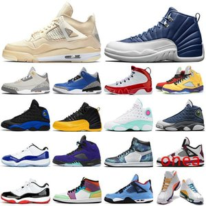 outdoor shoes bred 1s 11s Concord 12s Indigo 13s Flint 5s what the 9s sail 4s womens mens trainers Sports Sneakers