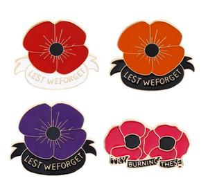 2020 Новый Красный мак контактный Remembrance воскресенье броши День ветеранов лацкан День памяти цветка ювелирных изделий
