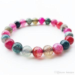 Chakra Bracelet Amber Jade beaded Crystal Point Christmas Infinity Turquoise Stone Bead Bracelet