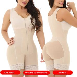 waist trainer binders body shapers corset modeling strap shapewear slimming underwear women faja girdle corrective underwear LJ200814