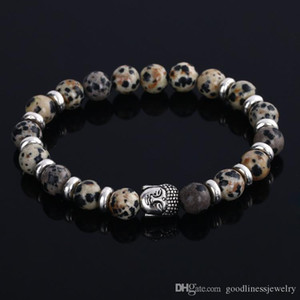 Natural Mens Bead Stone Luxury Jewelry Cheap Anchor Beaded Bracelets For Men Women Buddha Lava