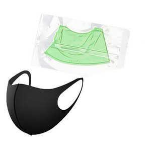 Reusable Breathing Valve Face Mask Washable Black Anti Dust PM2.5 Respirator Dustproof Anti-bacterial Mouth Cover BWC3160