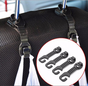2PCs Car Organizer Storage Holder Hooks organizer Car Seat Back Hook for Bags Vehicle Hanger Clips Shopping Bag Car Accessories