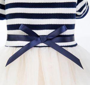 Pet Dog Stripes Perle Garza Tutu Dress Gonna Cucciolo di cucciolo Cat Princess Dress Vestiti Cotton Short Slee SQCeta New_DhBest