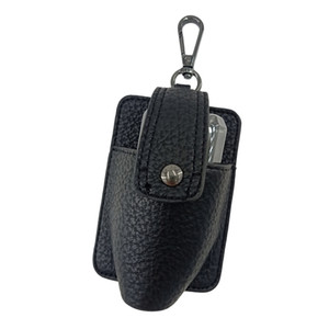Compact leather portable hook case accessories PU hard Bag Parts