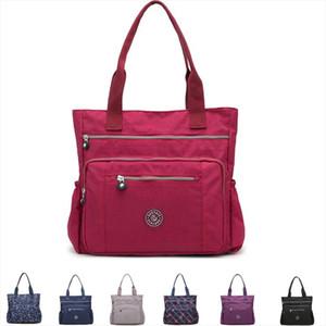 LKEEP Womens Multi pockets Shoulder Bag New Fashion Portable Outdoor Travel Zipper Multi functions Large Capacity Handbags Drop Shipping