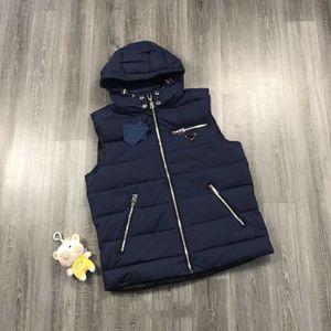 vests Gilet 2020 Giù cappotto invernale più spessi Top giacche casual Solid Gilet di colore con cerniera Tasche 3 colori caldi di vendita all'ingrosso
