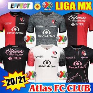 Футбольные майки Atlas FC 2020 2021 Home Away L.Reyes I.Jeraldino 20 21 Джерси Футболки Camiseta de Futbol Soccer Jerseys